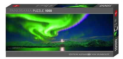Puslespill Panorama Polar Light 1000 brikker Heye