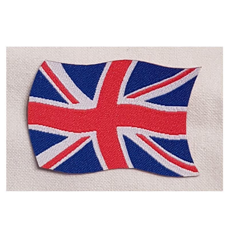 Tygmärke Union Jack