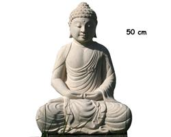 Buddha - Vit 50cm (2 pack)