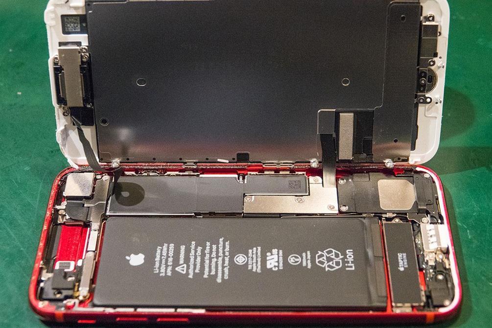 iPhone 7 Red Skjermbytte