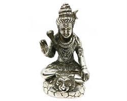 Brons - Silver Shiva Mahadeva 14cm (2 pack)