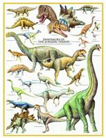 Puslespill Dinosaurs Jurassic Periode, 1000 brikker
