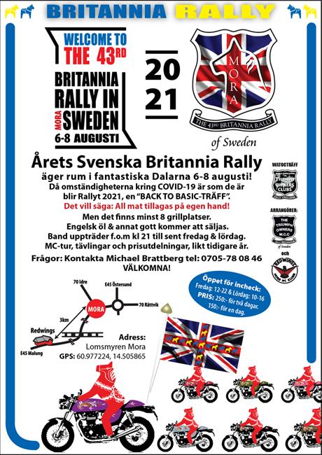 Svenska Britannia Rally 2021