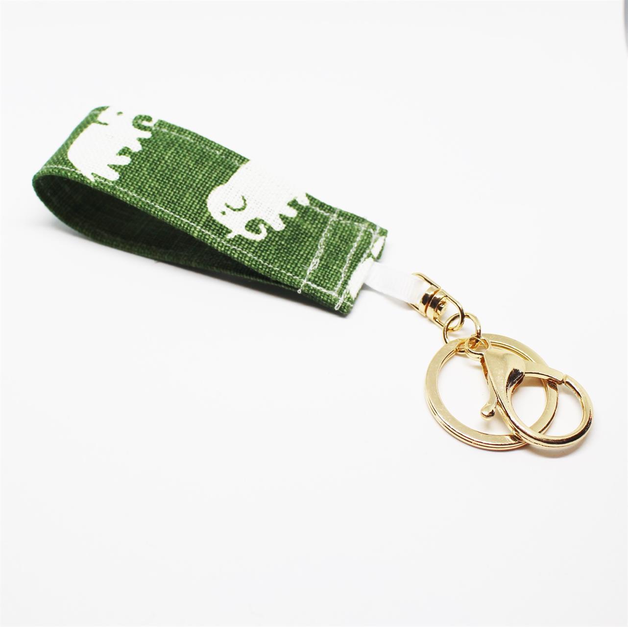 nyckelring Mossgrön