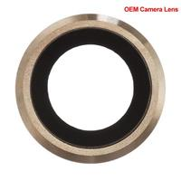 iPhone 6s Kameraglass m/Ramme - Gull