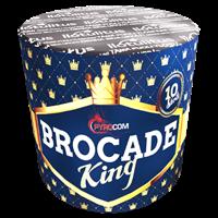 Brocade king