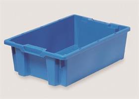 Transportkasse 600x400x180 konisk 32 L blue