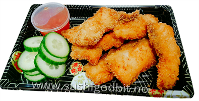 2b. Fritert laks tempura *G,F,E,M,SE