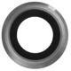 iPhone 6 Kameraglass m/Ramme - Grå