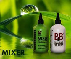 B&B Mixer flaske, hvit