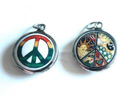 Medaljong - Peace mix (6 pack)