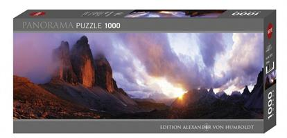 Puslespill Panorama 3 Peaks 1000 brikker Heye