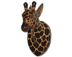 Mask - Giraff i trä (6 pack)