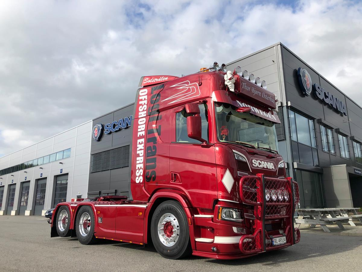 Scania R6 6x2 Torbjørn Østerhus (FB) (NO)