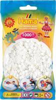 Hama perler Midi, Hvit 207-01 1000stk