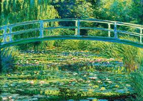 Puslespill Monet, The Water-Lily Pound, 1000 brikker