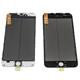 Glass/Ramme/OCA/POL - iPhone 6s+ - BK