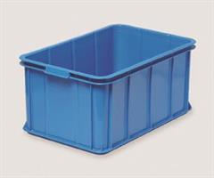 Transport og oppbevaringskasse 55 liter blå