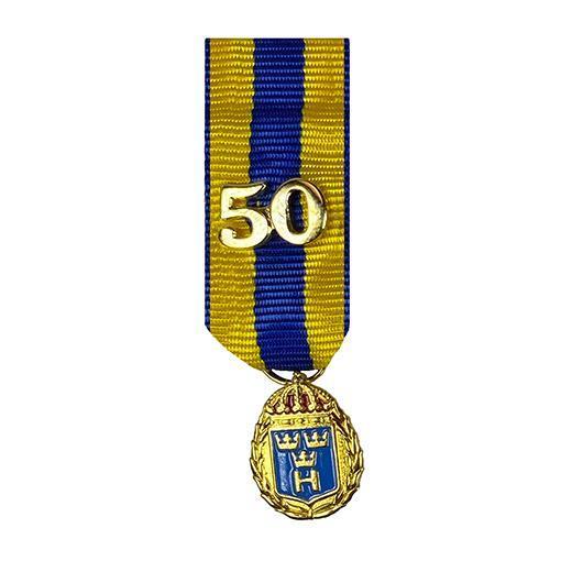 Miniatyrmedalj (HvtjgGM50)
