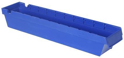 Lagerskuff 600x115x100mm blå