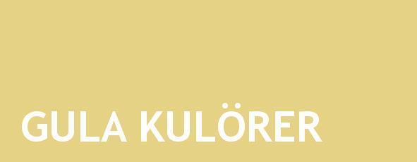 gula kulörer linoljefärg