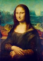 Puslespill Da Vinci, Mona Lisa, 1000 brikker