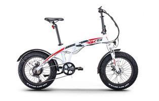 Elektrisk sykkel Compos XL Sammenleggbar Hvit