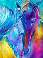 Diamond Painting, Hester 40*50cm (CANX929) GLITTER