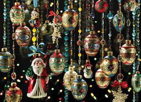 Puslespill Christmas Ornaments, 1000 brikker