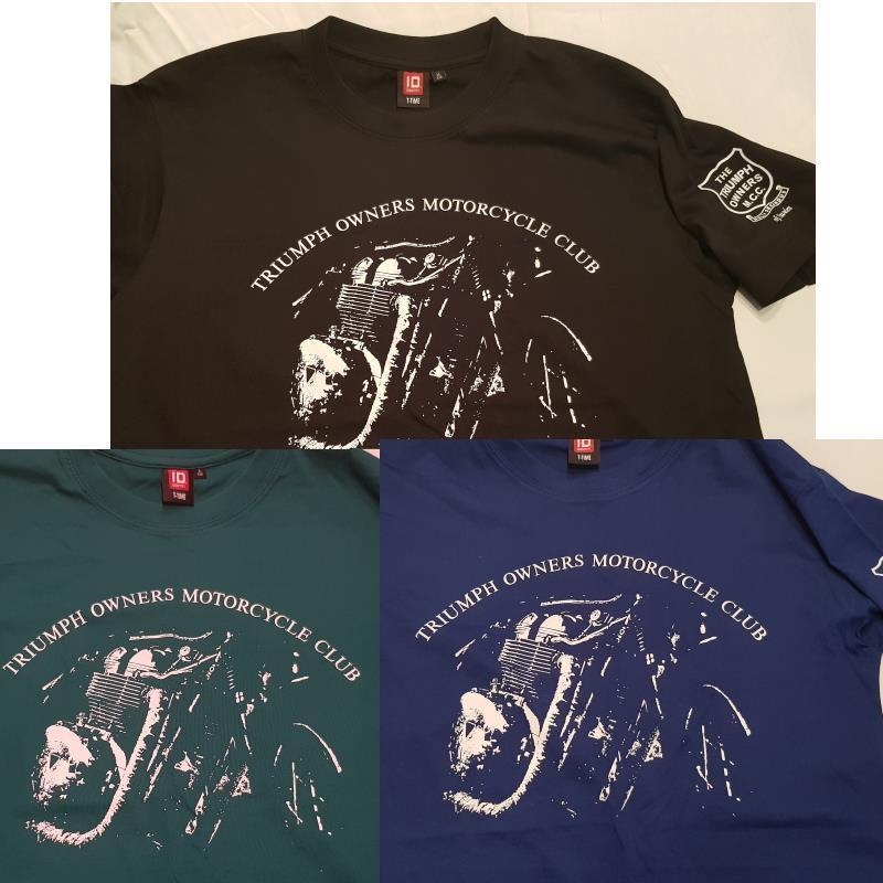 T-shirt grön - Motorcycle