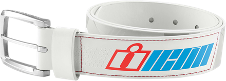 BELT DOUBLE STACK WHITE MD