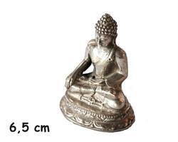 Brons - Silver Buddha 6,5cm (6 pack)