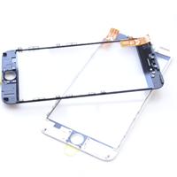 Glass/Ramme & OCA - iPhone 6s - Bk