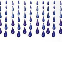 Draperi - Plast regn mix (10 pack)