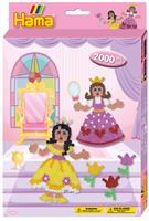 Hama sett, Prinsesser hengende 2000stk (3-3444)