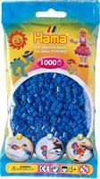 Hama perler Midi, Lys blå 207-09 1000stk