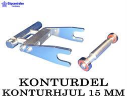 KONTURDEL + KONTURHJUL Ø 15 MM