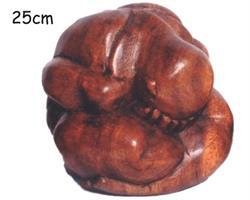 Träsnideri - Yogi 25cm (3 pack)
