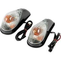 Mini Wing Marker Lights - Carbon/Clear