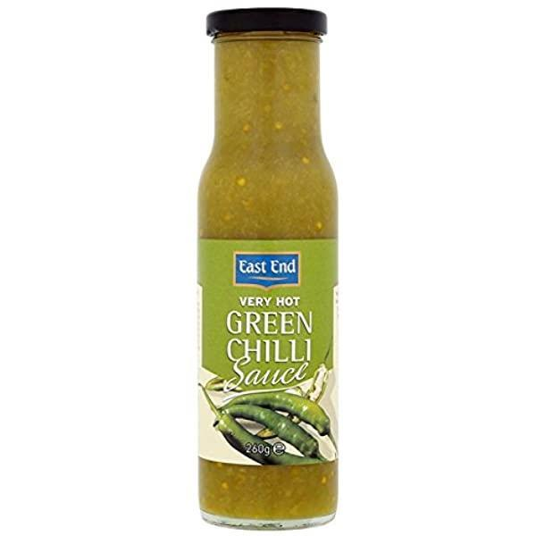 East End Very Hot Green Chilli Sauce 6x260g