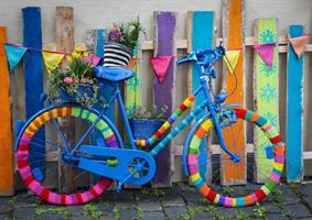 Puslespill My Beautiful Colorful Bike, 1000 brikker