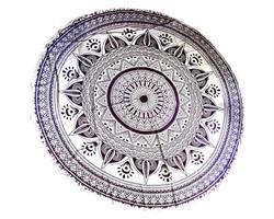 Beachroundie - Mandala lila (3 pack)