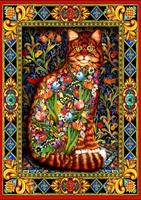 Puslespill Tapestry Cat, 1500 brikker