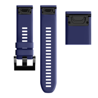 Easyfit Silik Klokkerem for Garmin Fenix 6x/5x/5x+