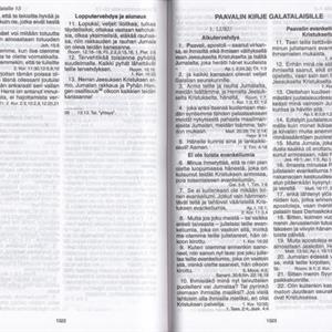 RAAMATTU - RAAMATTU KANSALLE KÄÄNNÖS - KESKIKOKO- TURKOOSI
