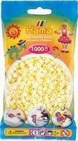 Hama perler Midi, Cream 207-02 1000stk