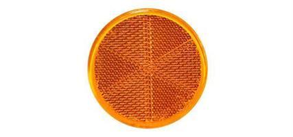 Refleks gul rund