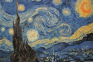 Puslespill Vincent van Gogh - Starry Night 1000 brikker