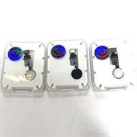iPhone 8/8+/7/7+ Hjem knapp m/Flex - Sølv