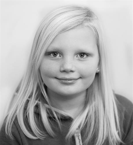 Portrett av pikebarn